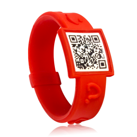 QR Living Joy wristband
